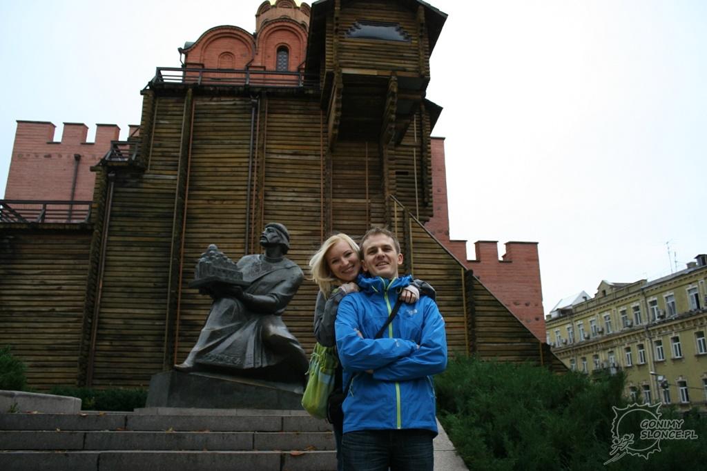 Ewa i Romek - gonimyslonce.pl w Kijowie