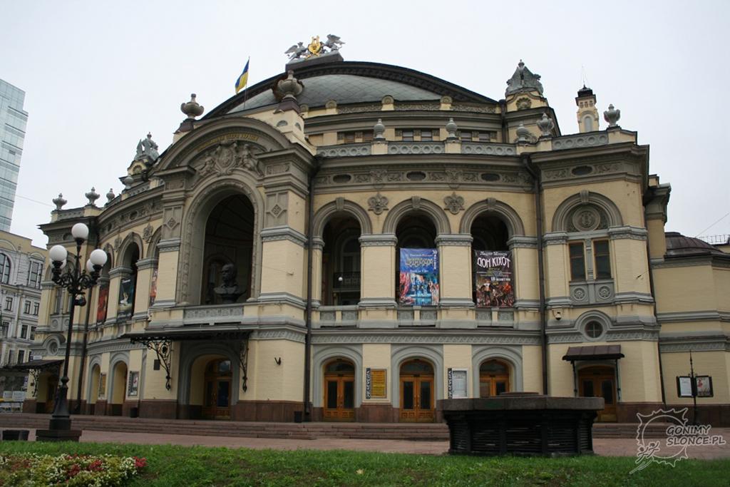 Opera w Kijowie - Kijów kulturalnie - koncerty i przedstawienia