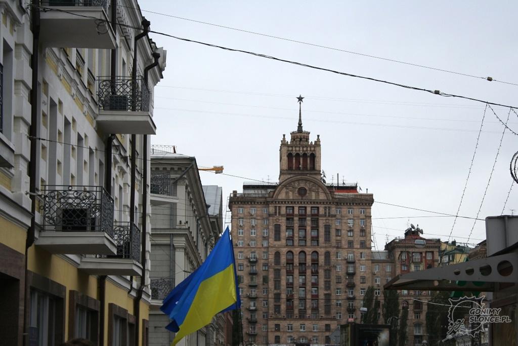 zabudowania Kijowa - Ukraina