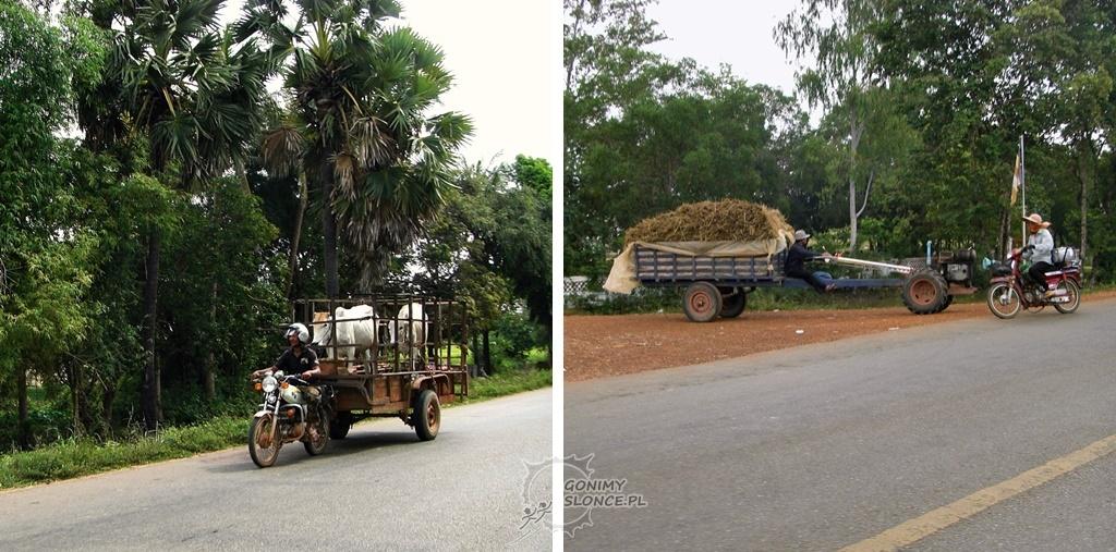 Życie codzienne w Kambodży - transport