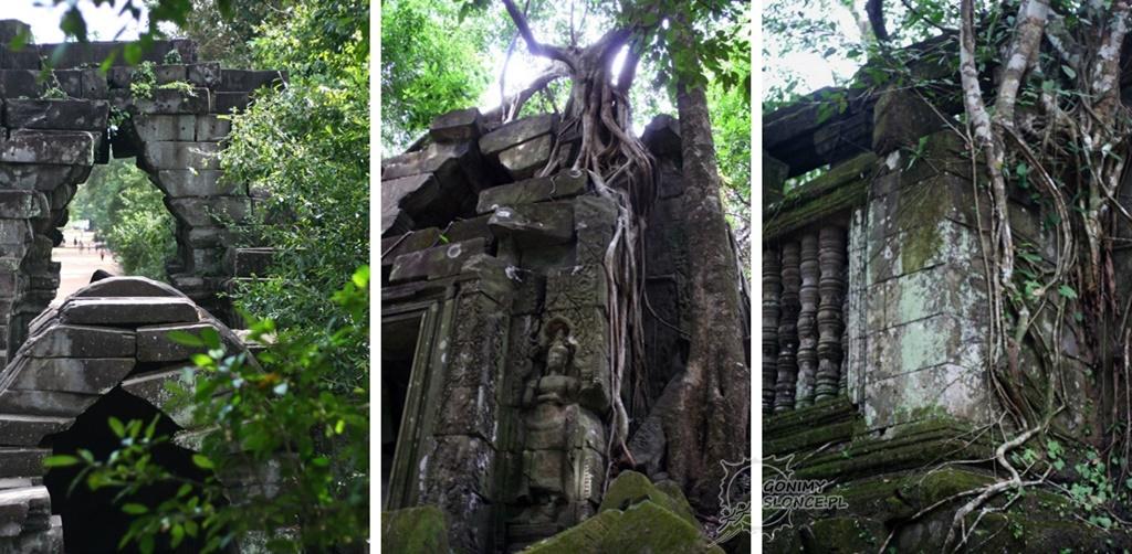 Beng Melea - starsza siostra Angkor Wat