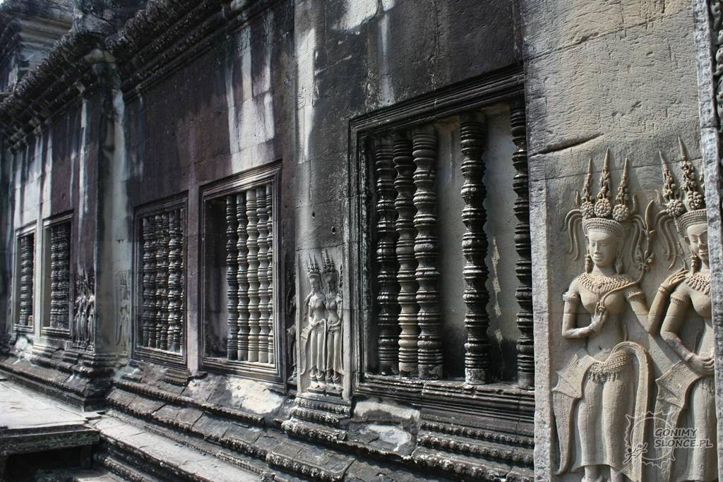 Angkor Wat - zdobienia