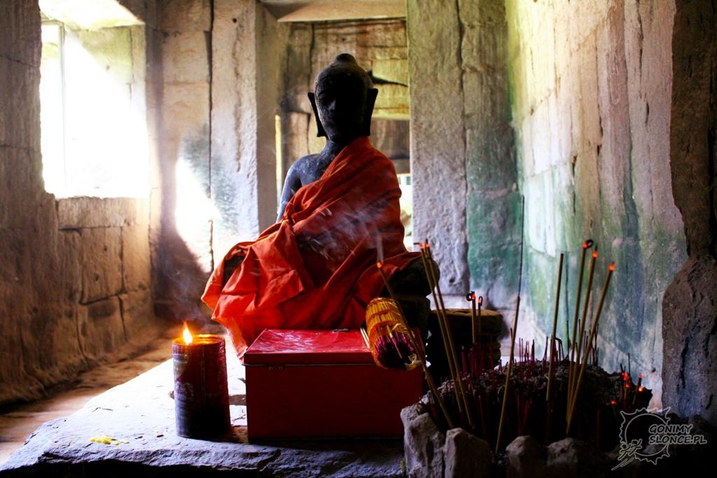 Budda w świątyni Ta Prohm