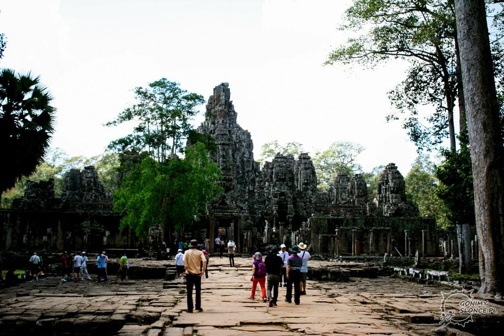Wejście do świątyni Bayon