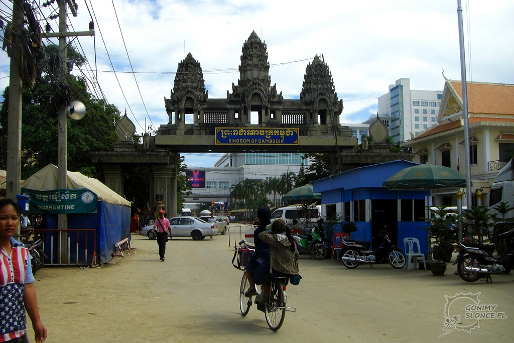Granica Tajlandii z Kambodżą