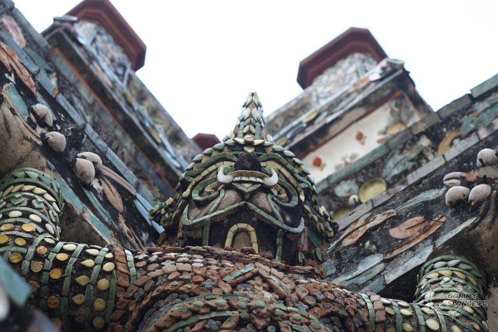 Opoka świątyni Wat Arun