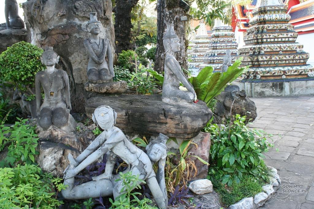 Masaż tajski w rzeżbie - Wat Pho