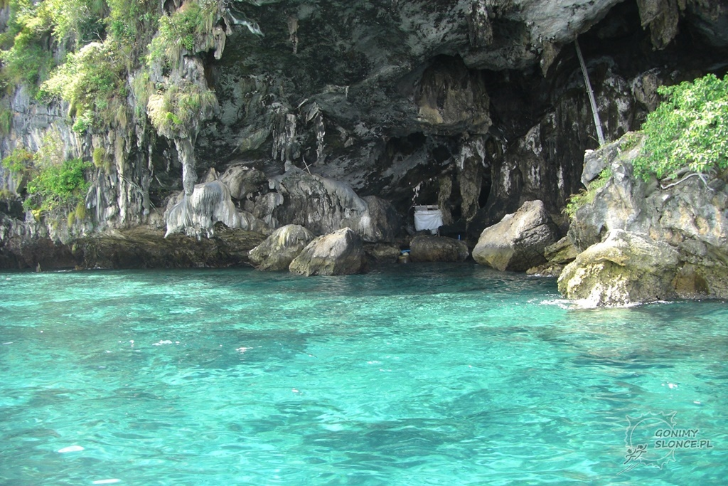 Okolice Krabi, jaskinie