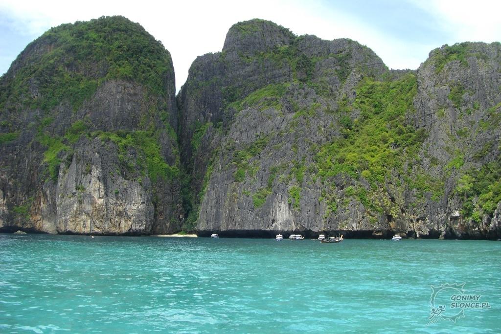 Wyspy przy Krabi, Tajlandia