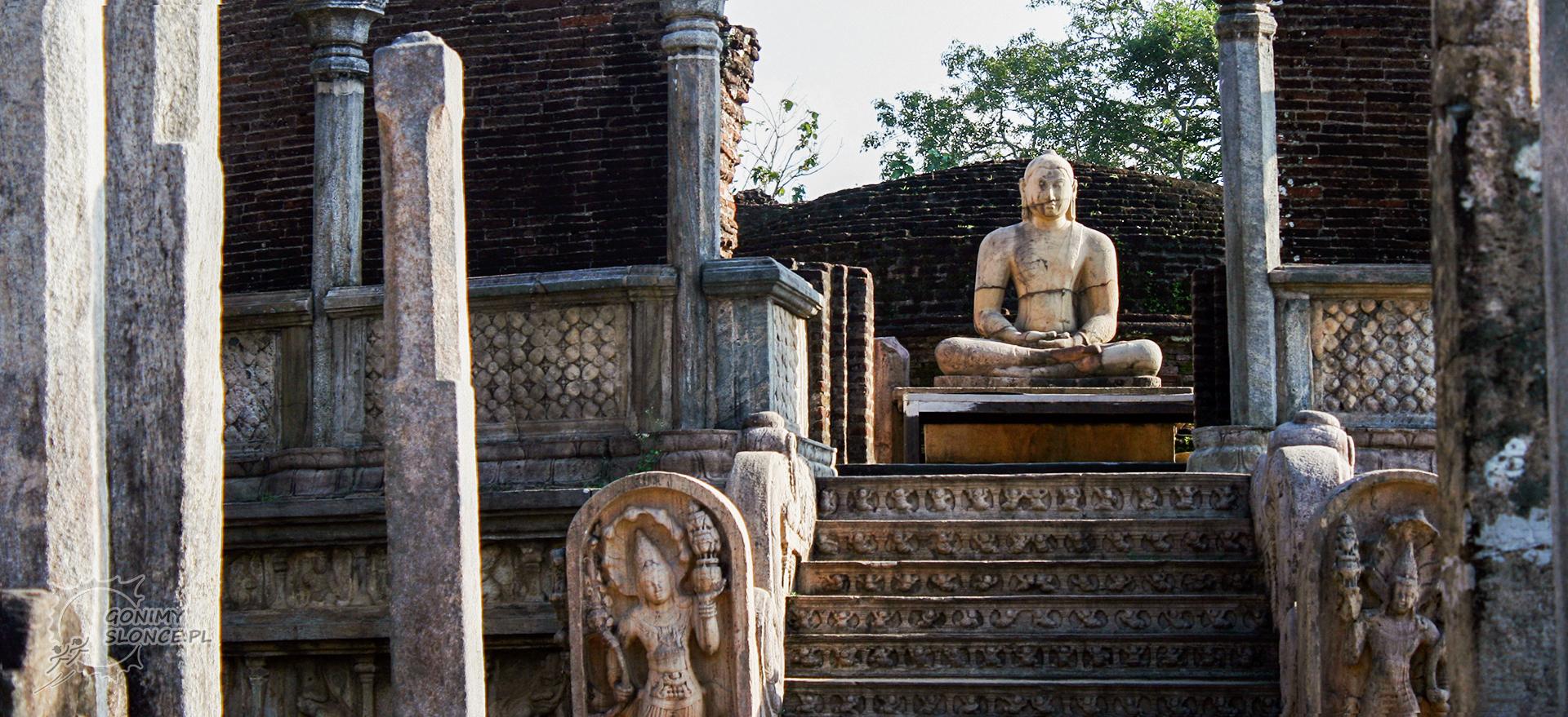 Polonnaruwa - historyczne miasto Sri Lanki