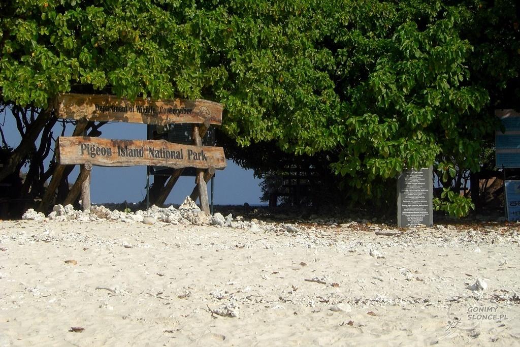 Park Narodowy Wyspy Pigeon - Pigeon Island National Park