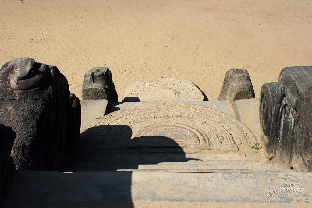 Polonnaruwa - historyczny trakt