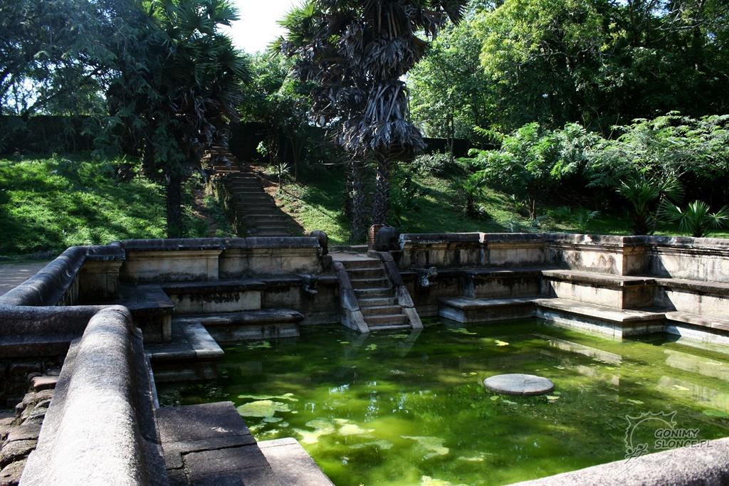Polonnaruwa - historyczny basen ogrodowy