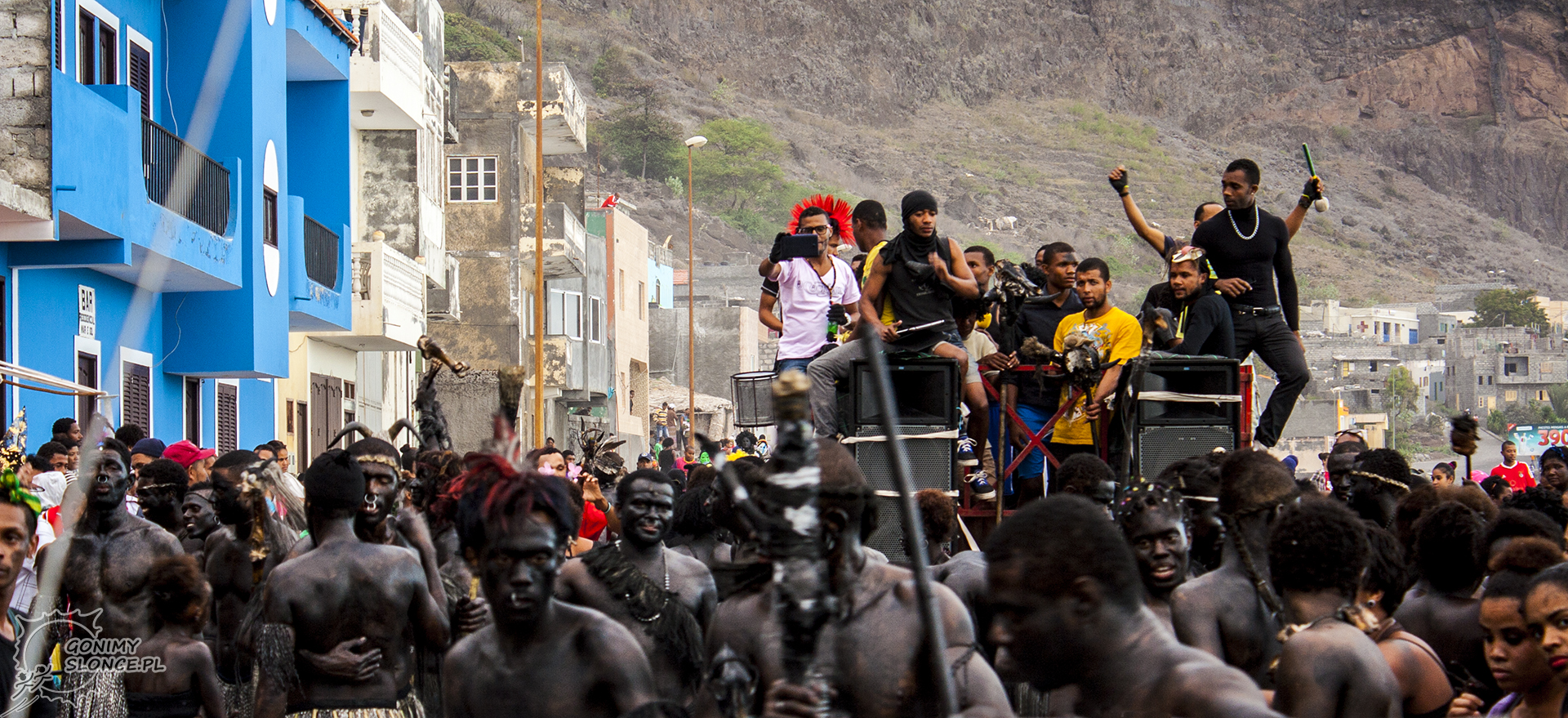 Mandingas - karnawał na Cabo Verde, Santo Antao