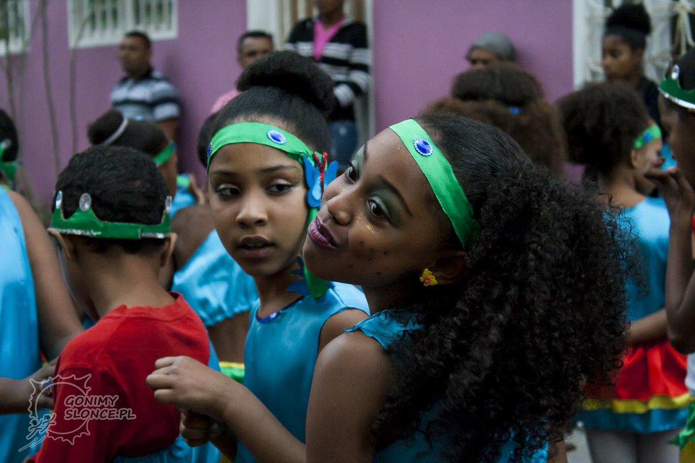 Dzieci karnawału Cabo Verde