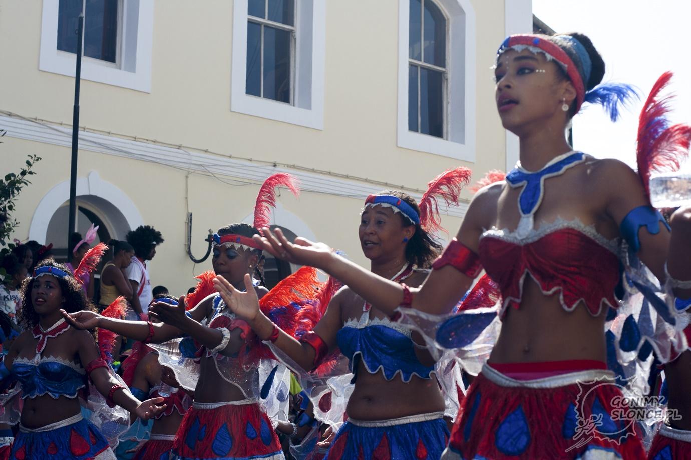 Tancerki - karnawał w Mindelo