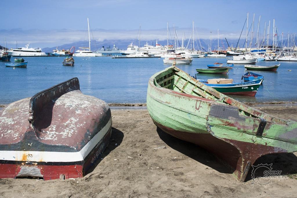 Mindelo - zatoka na Sao Vicente