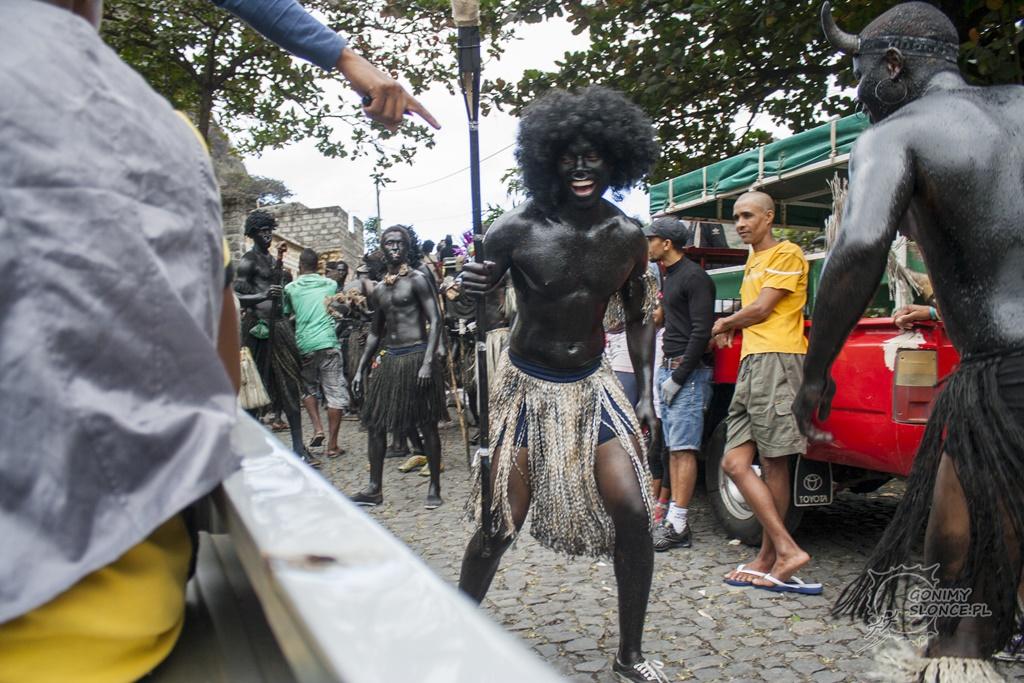 Mandingas - karnawał na Santo Antao