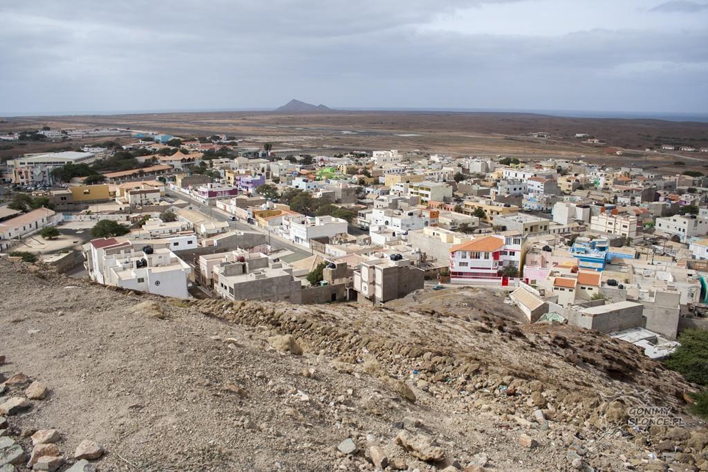 Wyspa Sal - Esparagos - panorama miasta