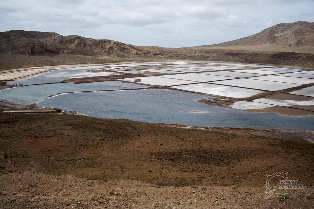 Saliny przy Pedra de Lume - wyspa Sal