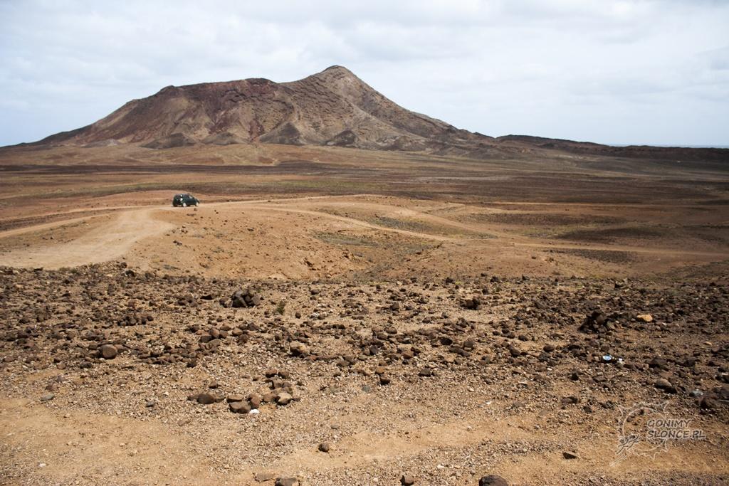 Wyspa Sal - księżycowy krajobraz Cabo Verde