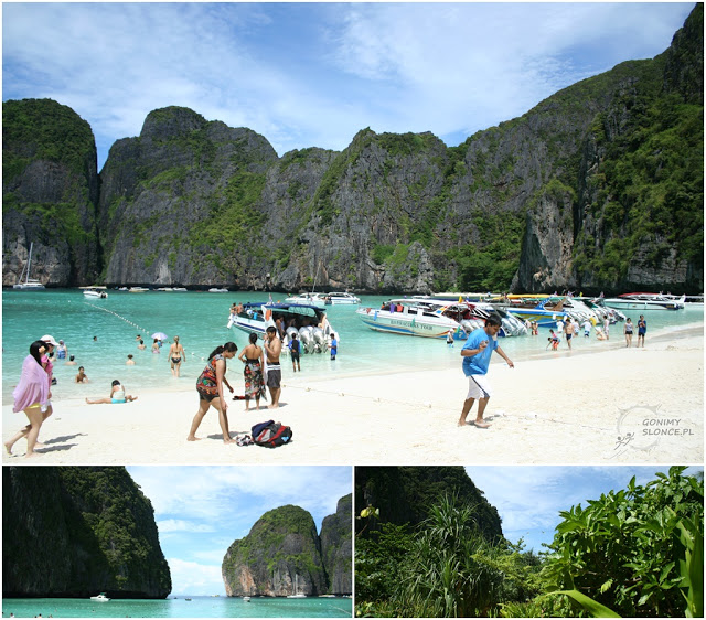 TOP 9 Maya Bay Beach, Phi Phi, Tajlandia