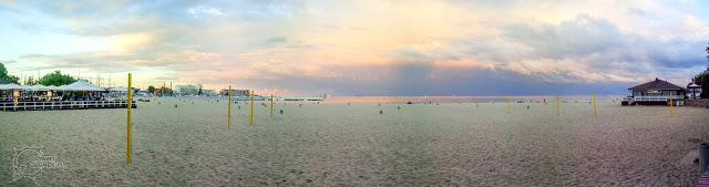 Gdynia, Plaża Miejska - panorama