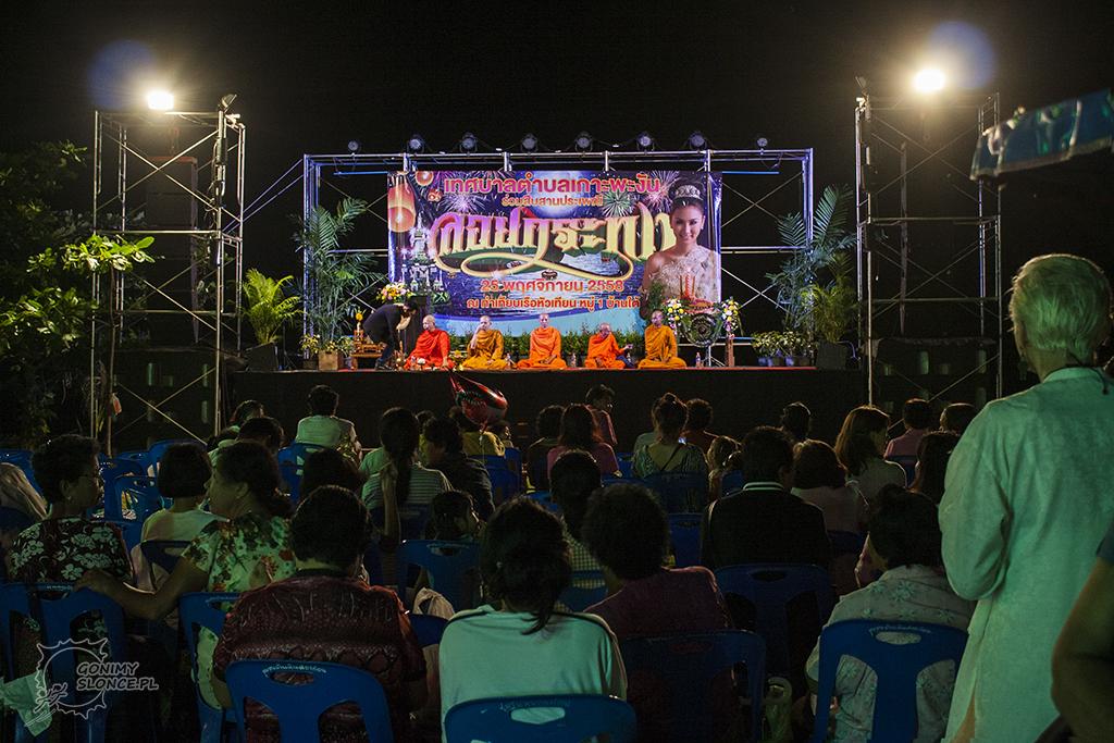 Loy Krathong - Baan Tai, Koh Phangan