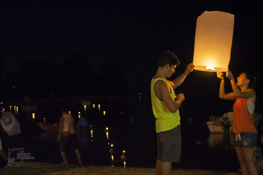 Khom Loy Lanterns, Koh Phangan