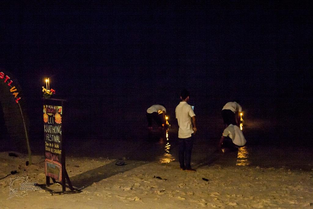 Loy Krathong, Salad Beach Resort - Koh Phangan
