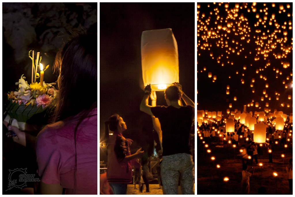 Loy Krathong - Yi Peng - Mass Sky Lantern Release