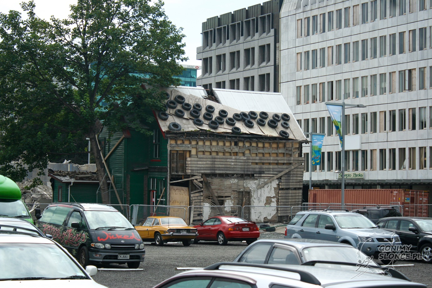 Centrum Christchurch po wstrząsach z 2011 roku