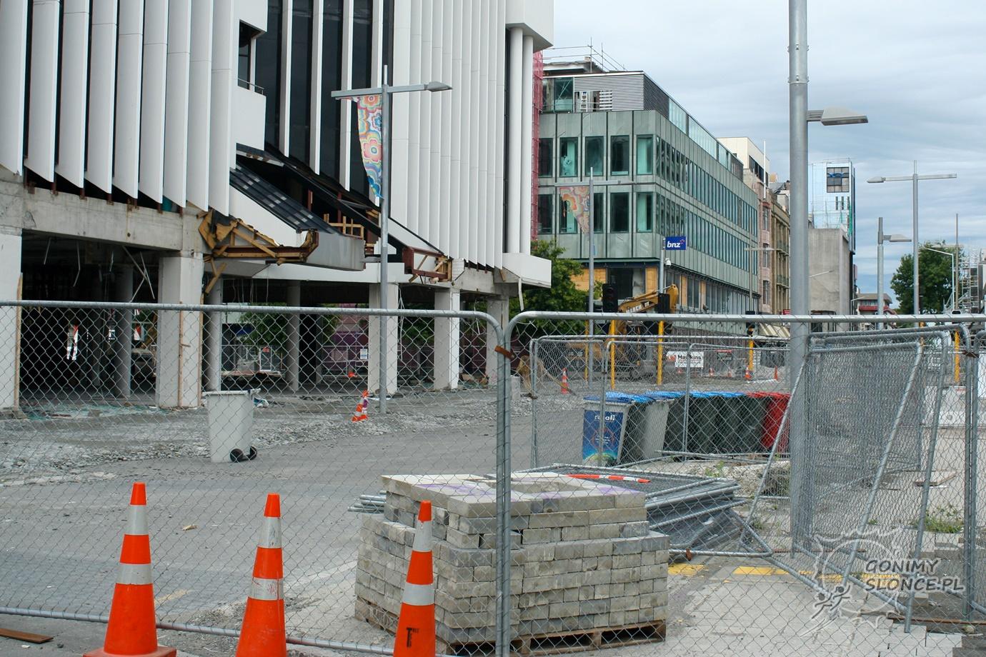 Skutki trzęsienia ziemi w Nowej Zelandii