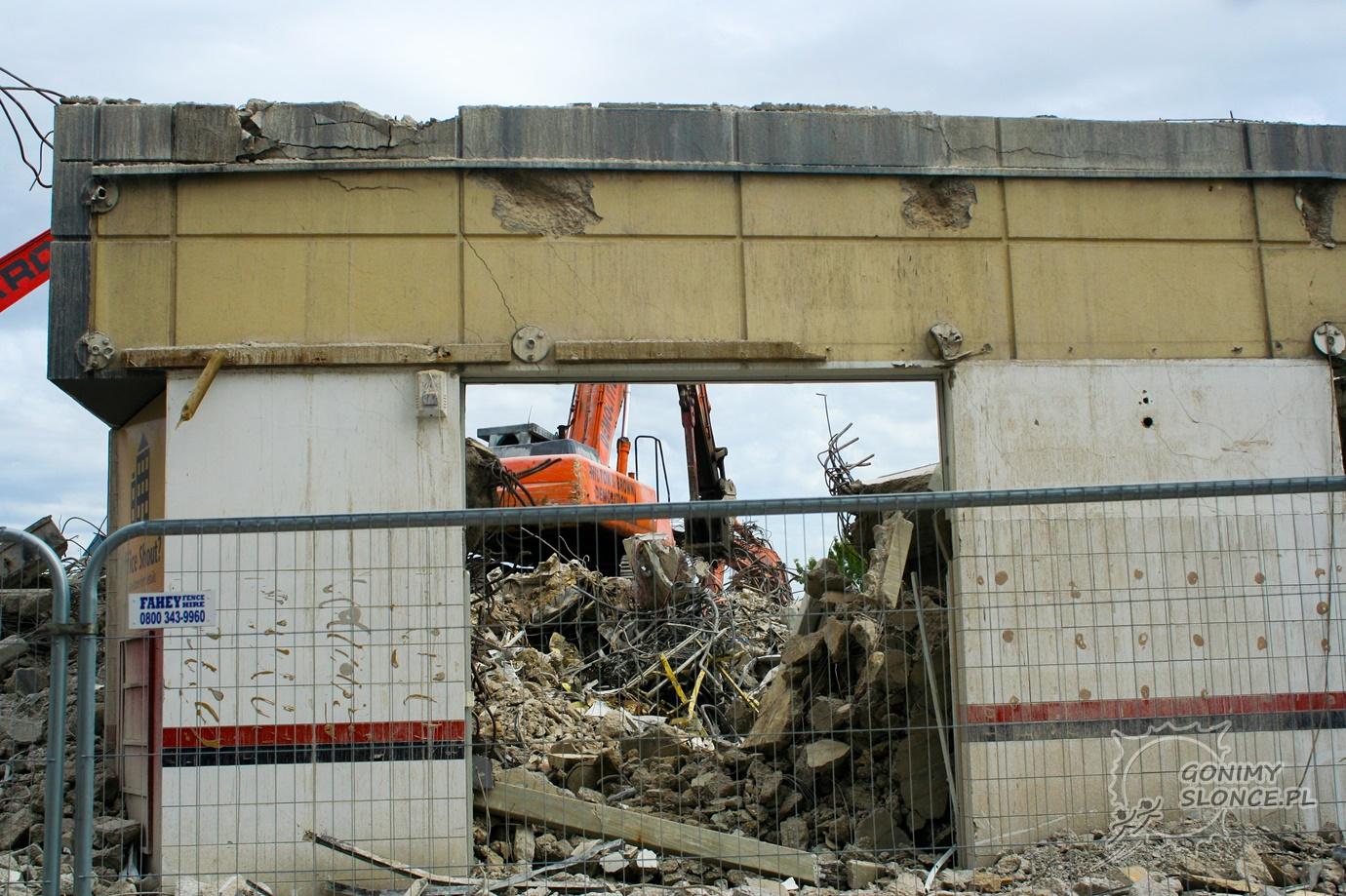 Miasto w ruinie - Christchurch
