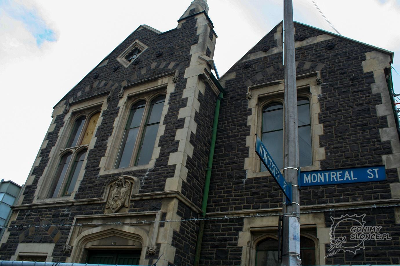 Montreal Street Christchurch
