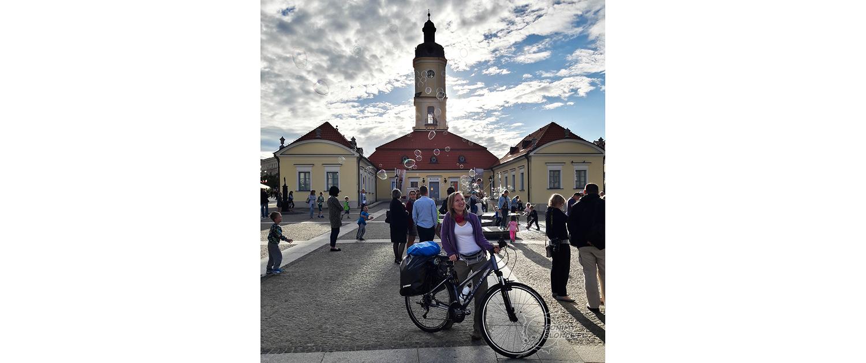 Białystok latem