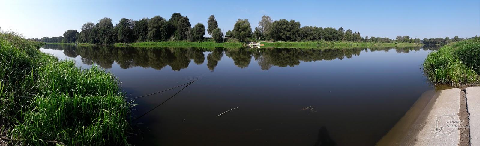 Przystań promowa Zabuże-Mielnik, rzeka Bug