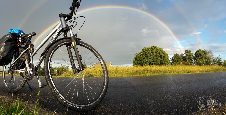 Tęcza na Green Velo, rowerem przez Polskę
