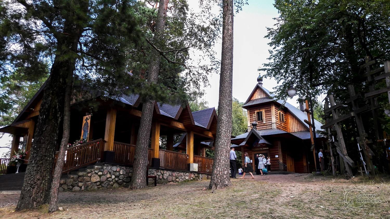 Grabarka Klasztor, Wzgórze, Święto Przemienienia