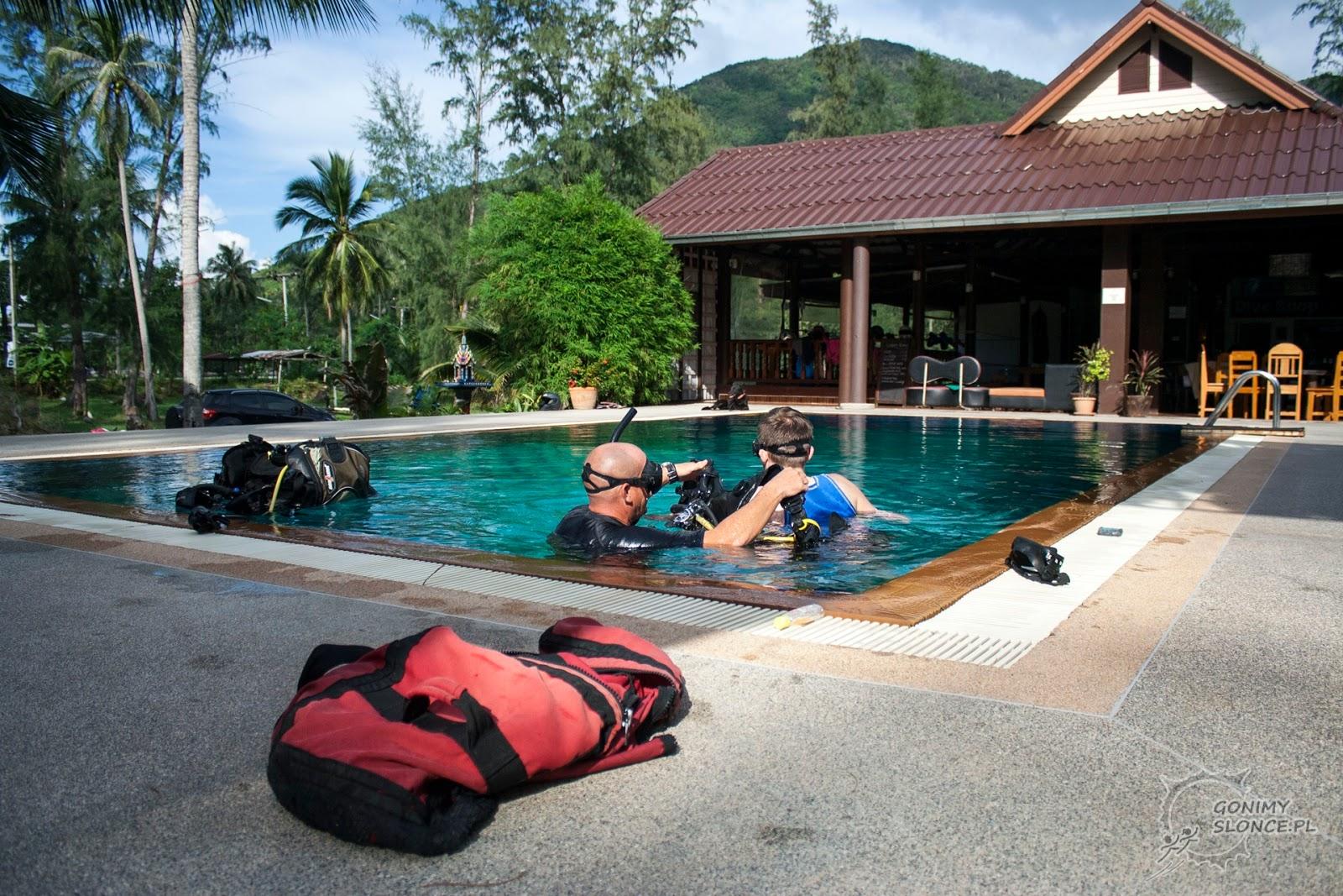 Kurs nurkowy na wyspie, Tajlandia, Koh Phangan