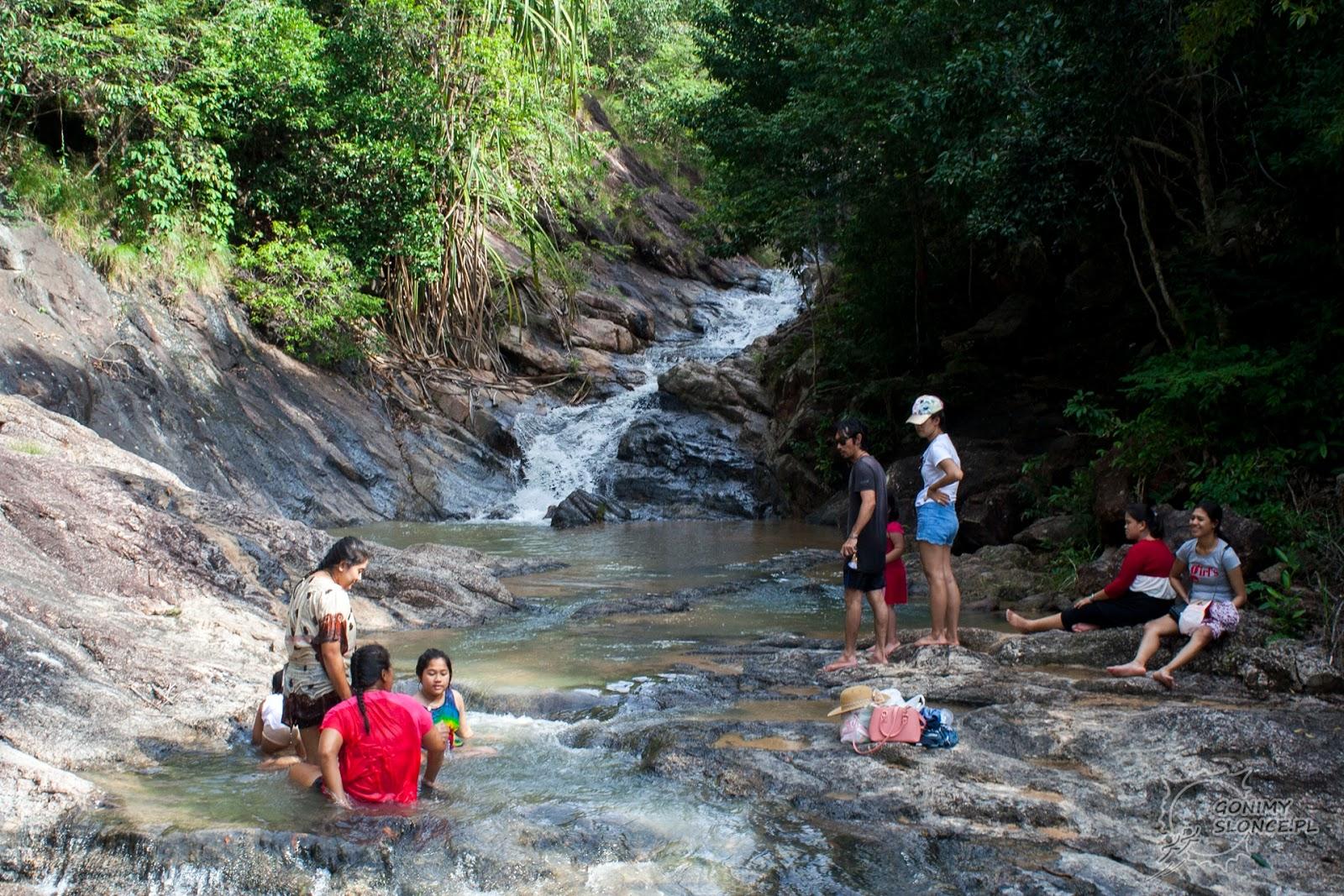 Wangsai Waterfall, Koh Phangan, wodospad