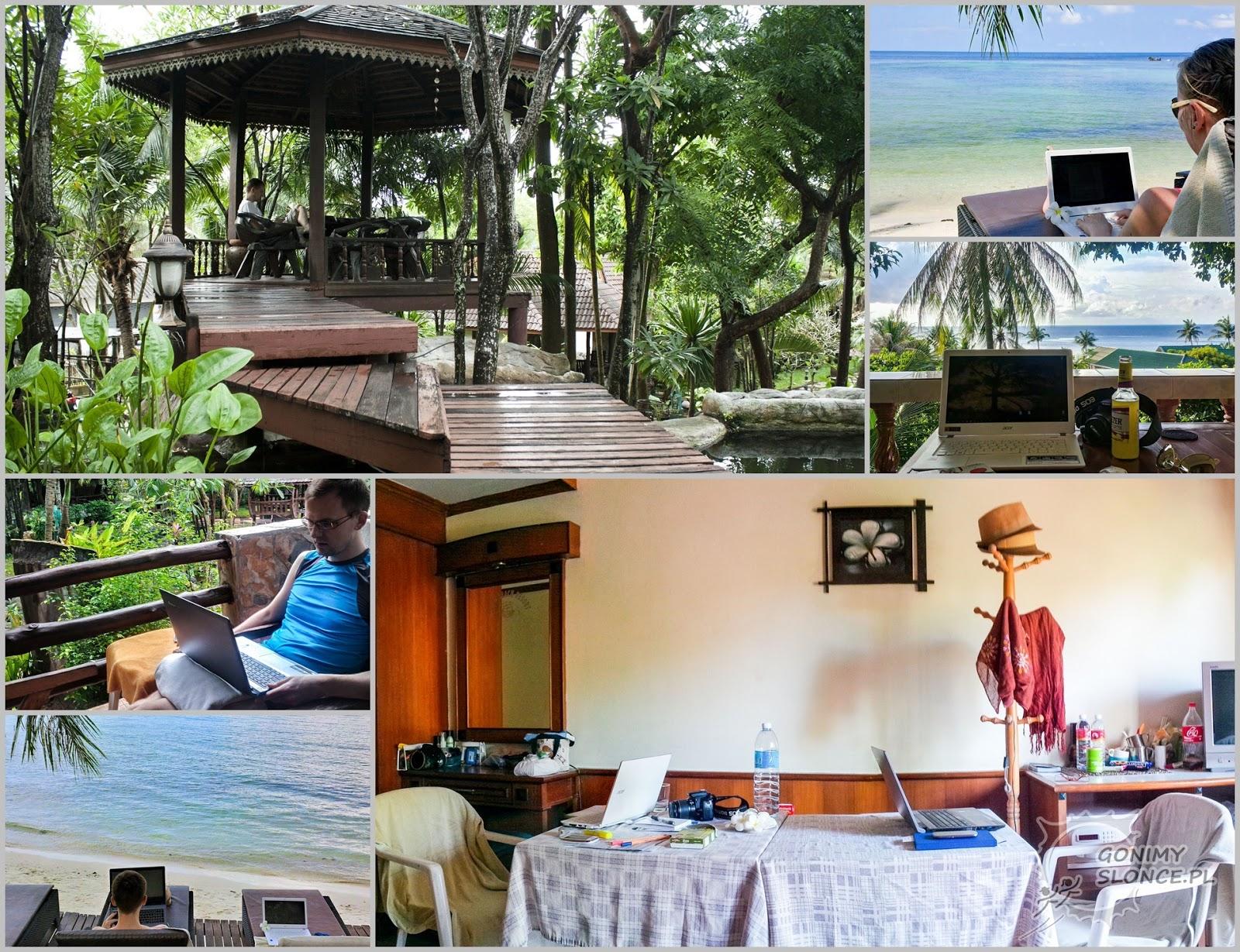 Praca w tropikach, zdalna praca, cyfrowi nomadzi