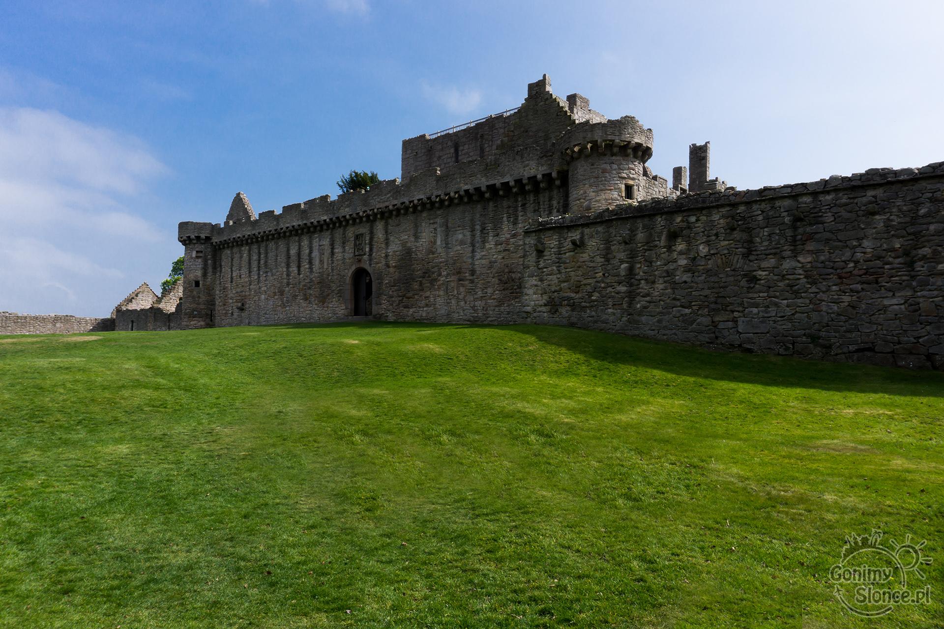 Edynburg - przewodnik - Craigmillar - drugi zamek Edynburga