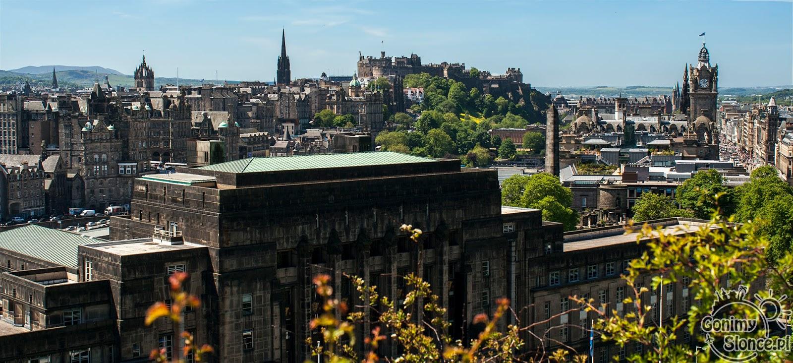Edynburg - stolica Szkocji - Stare Miasto
