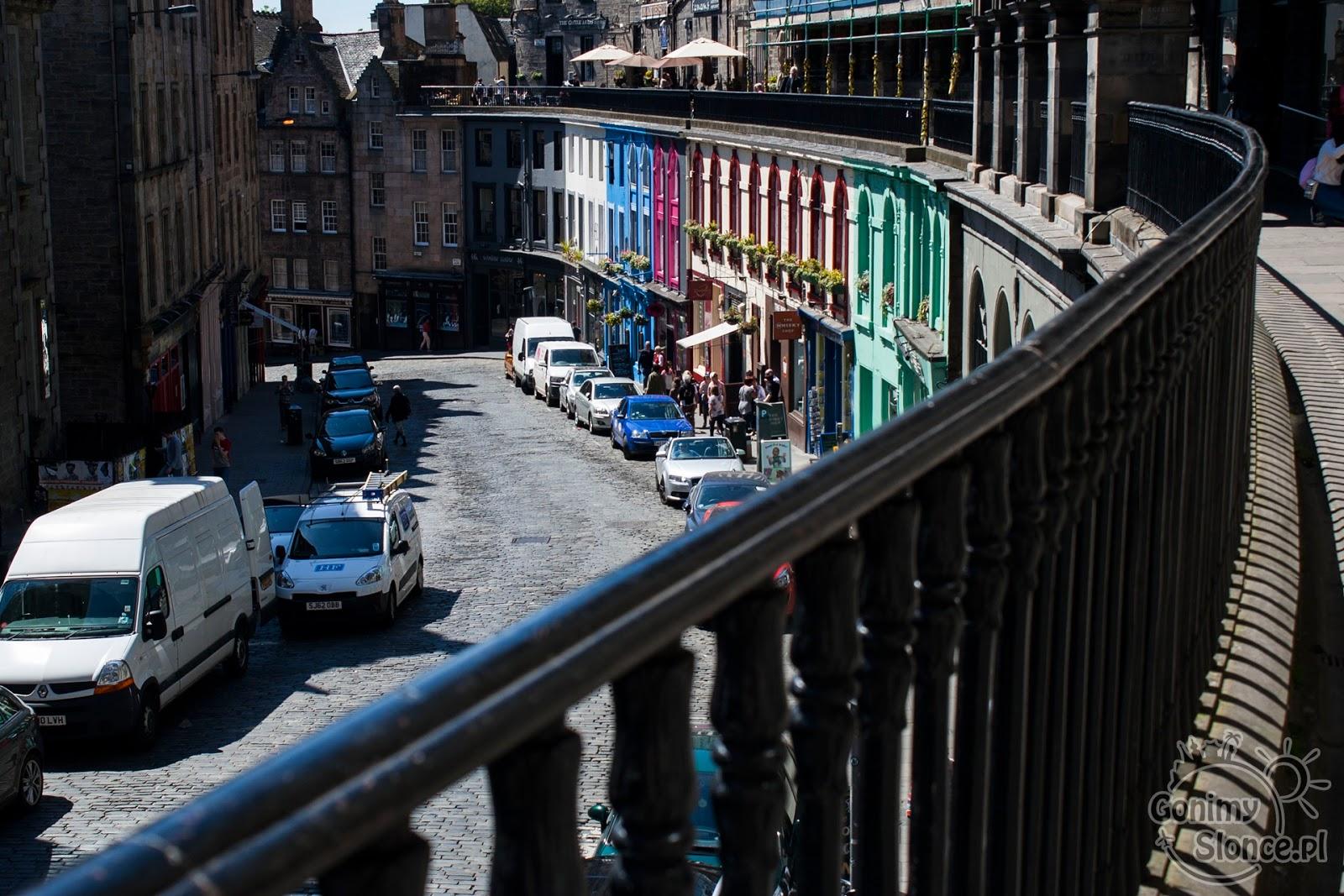 Edynburg - przewodnik - Victoria Street