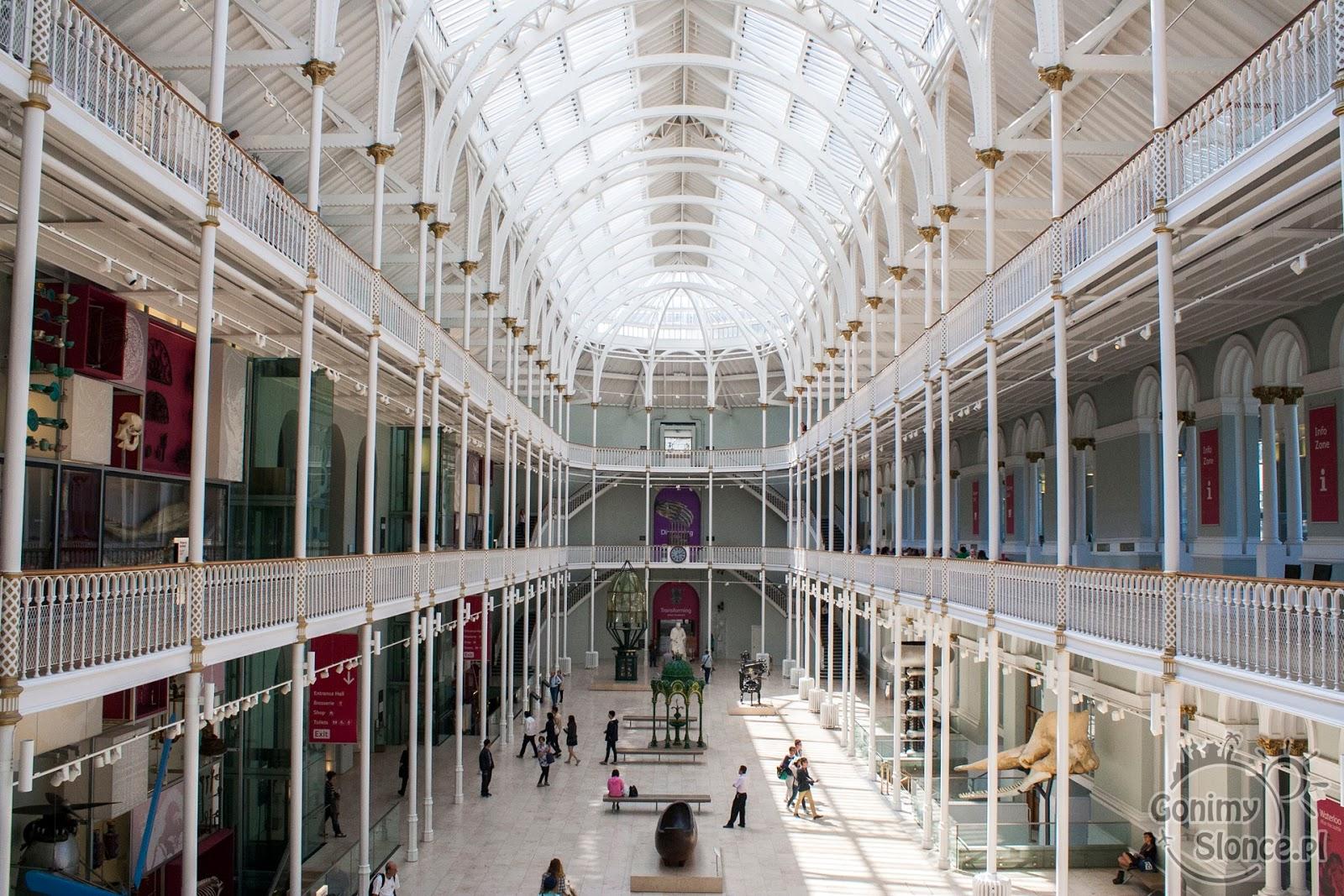 Edynburg - przewodnik -National Museum of Scotland