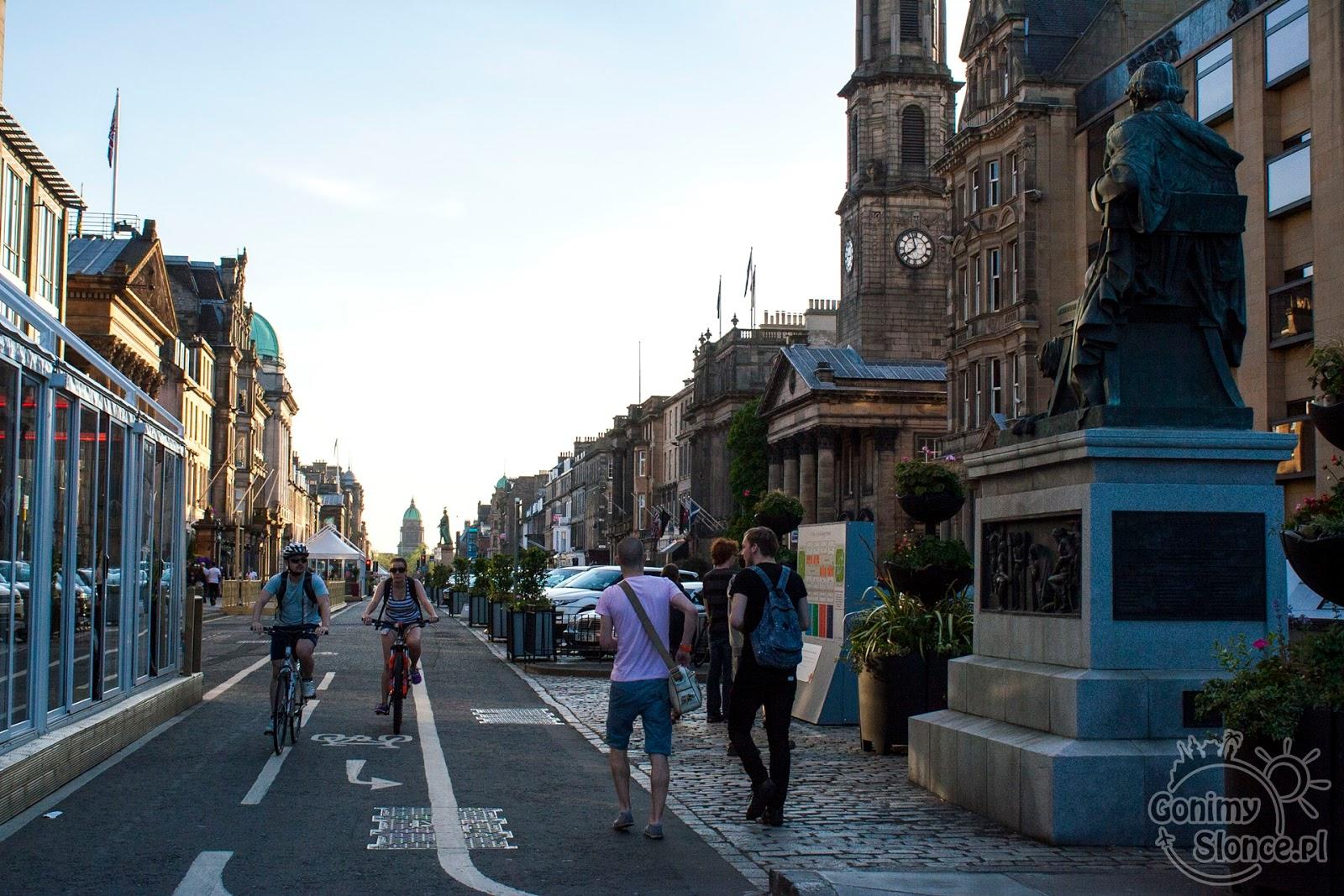 New Town, Edynburg - przewodnik po stolicy Szkocji
