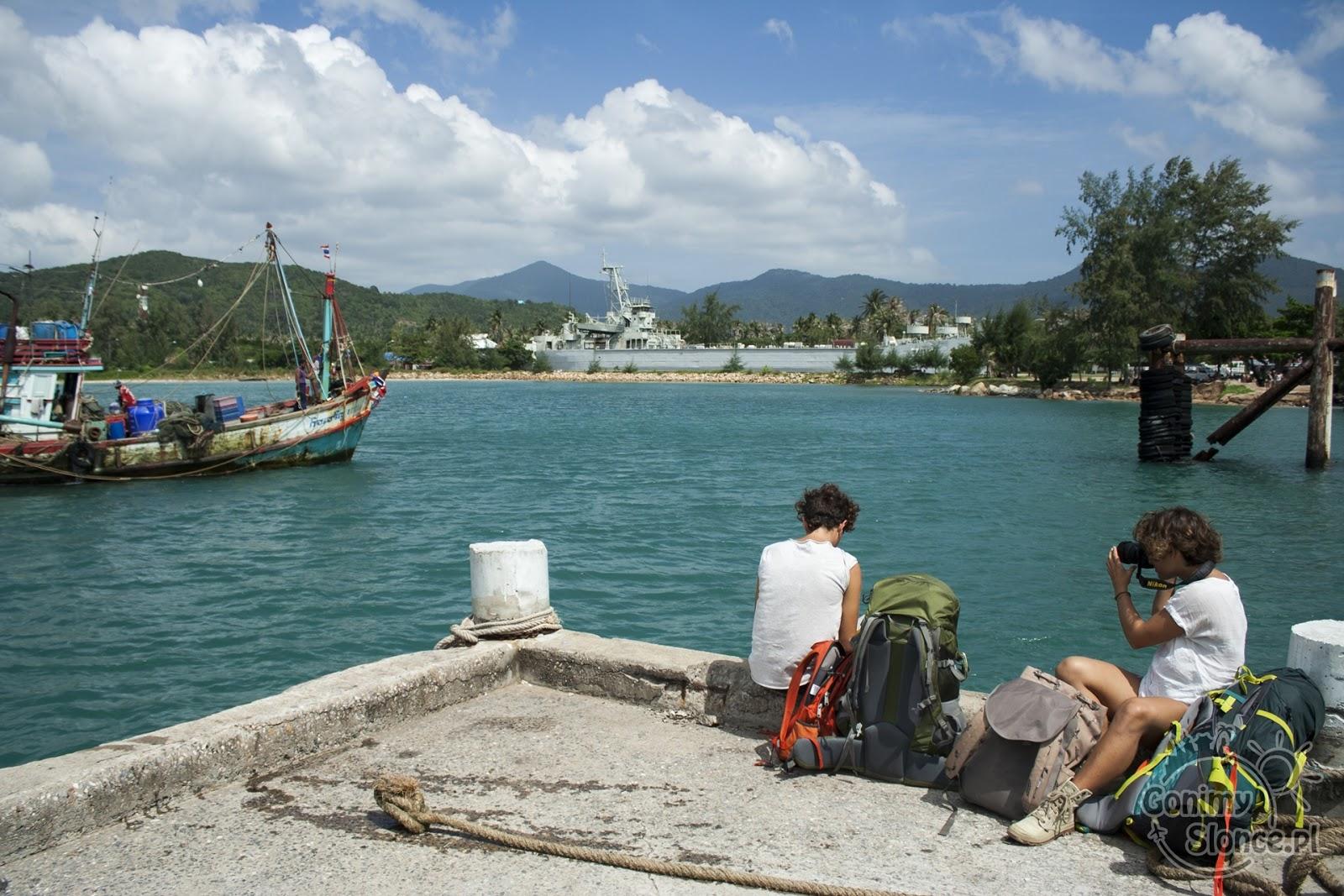 Kurs promem na wyspę Koh Phangan