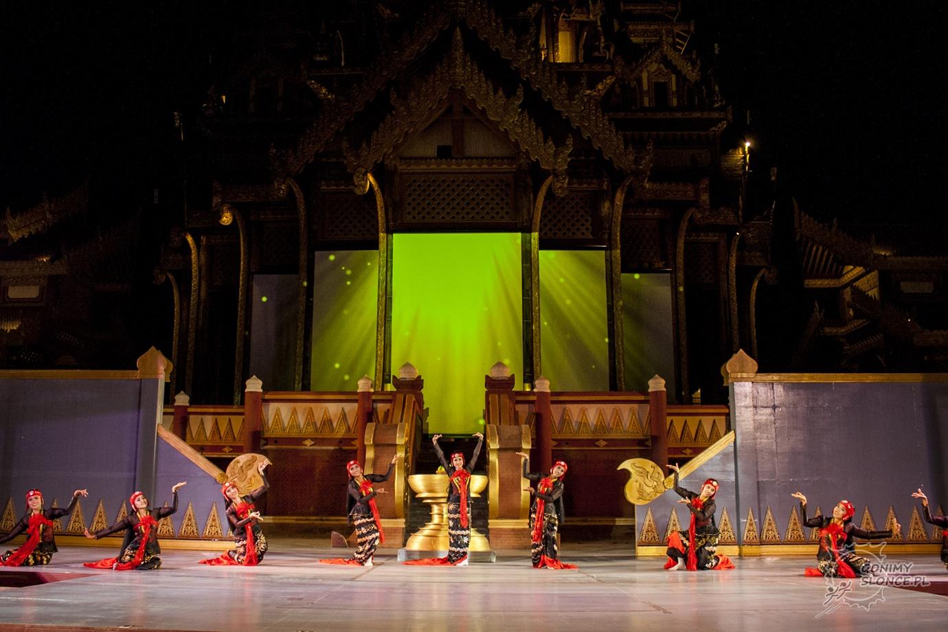 Dandaree - birmańskie tańce