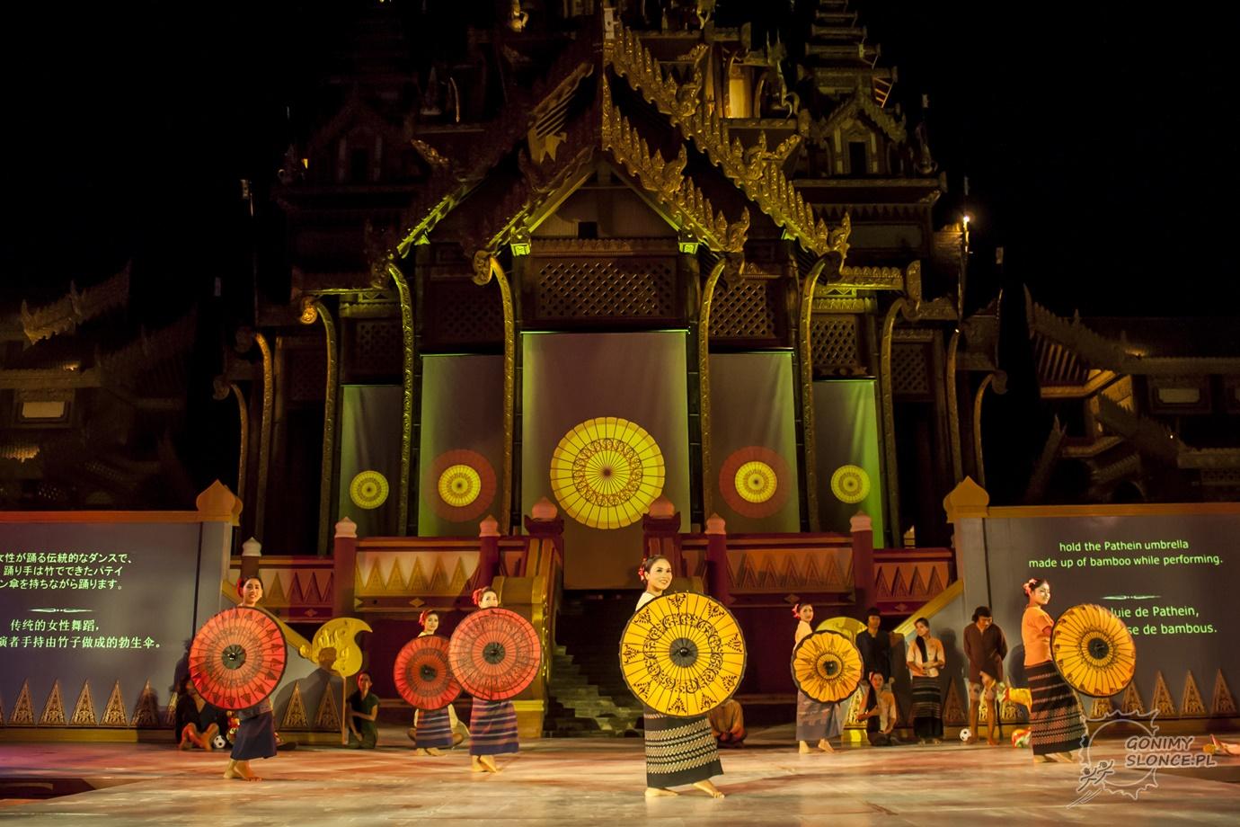 Dandaree - tradycyjny taniec birmańskiech dziewcząt